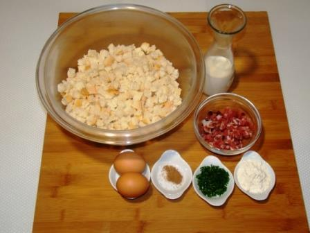 Ingredienti canederli