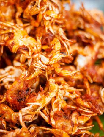 Moeche fritte: granchietti fritti tipici della cucina veneziana