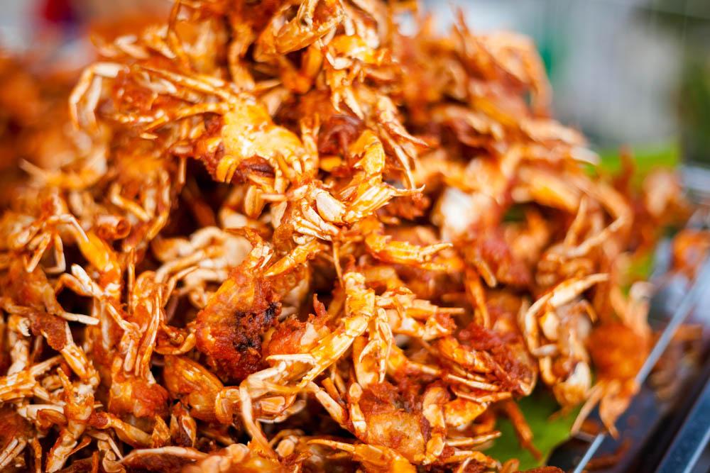 Moeche fritte: specialità tipica della cucina veneziana