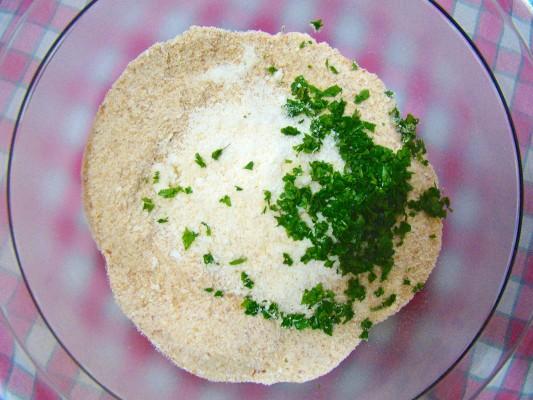 Procedimento per il pan gratè alla romagnola