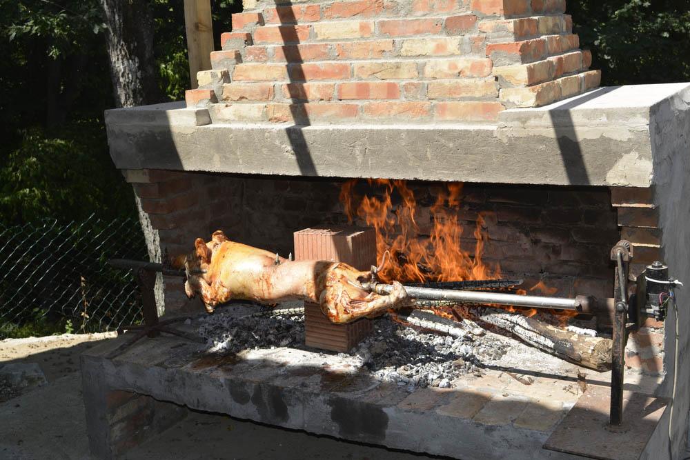 Come cucinare il maialino allo spiedo