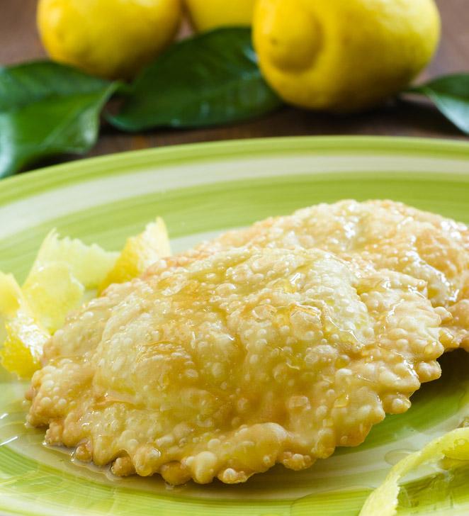 Seadas piatto tipico Sardegna