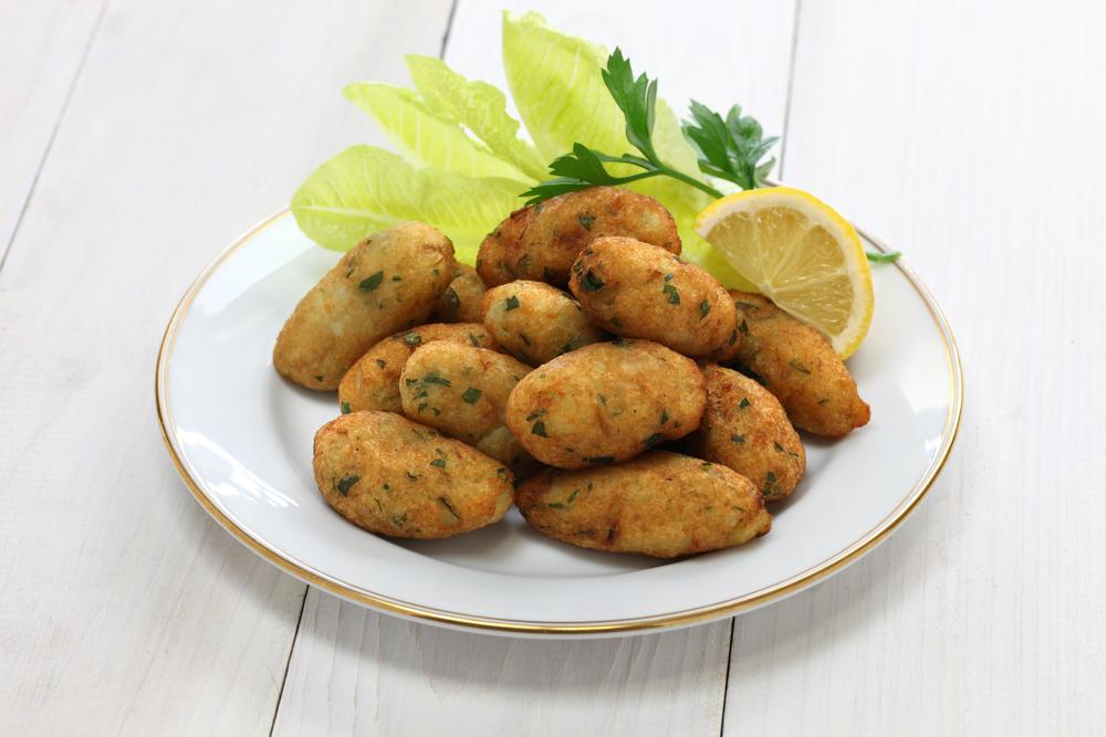 Cazzilli, crocchette di patate e prezzemolo tipiche di Palermo