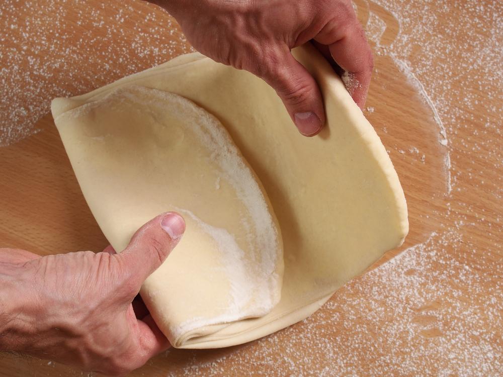 Pieghe pasta sfoglia