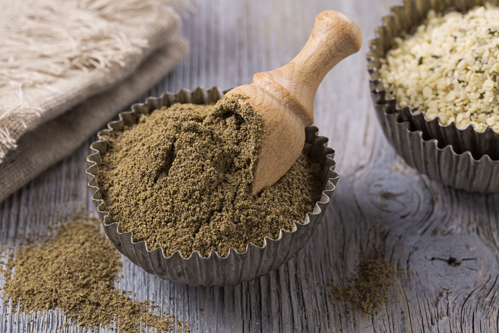 Farina di grano arso