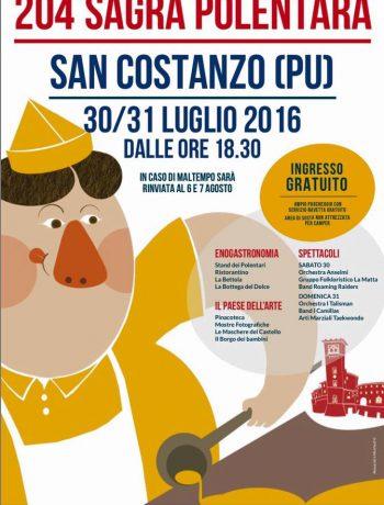 Sagra polentara di San Costanzo