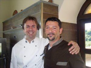 Chef luca Montersino e Panzella Ciro Cristian
