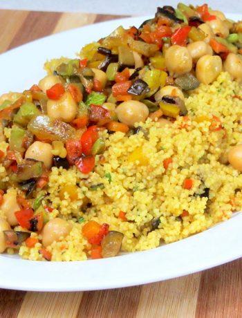 Cous cous con verdure al curry ricetta vegana