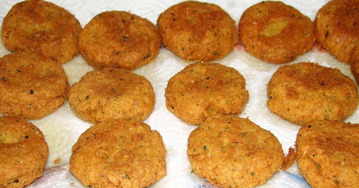 ingredienti ricetta Falafel con hummus