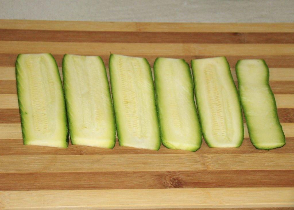 Fettine di zucchine da grigliare
